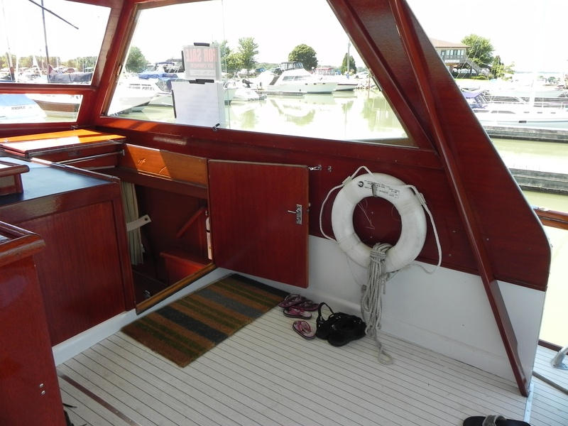 Wheelhouse Starboard Side